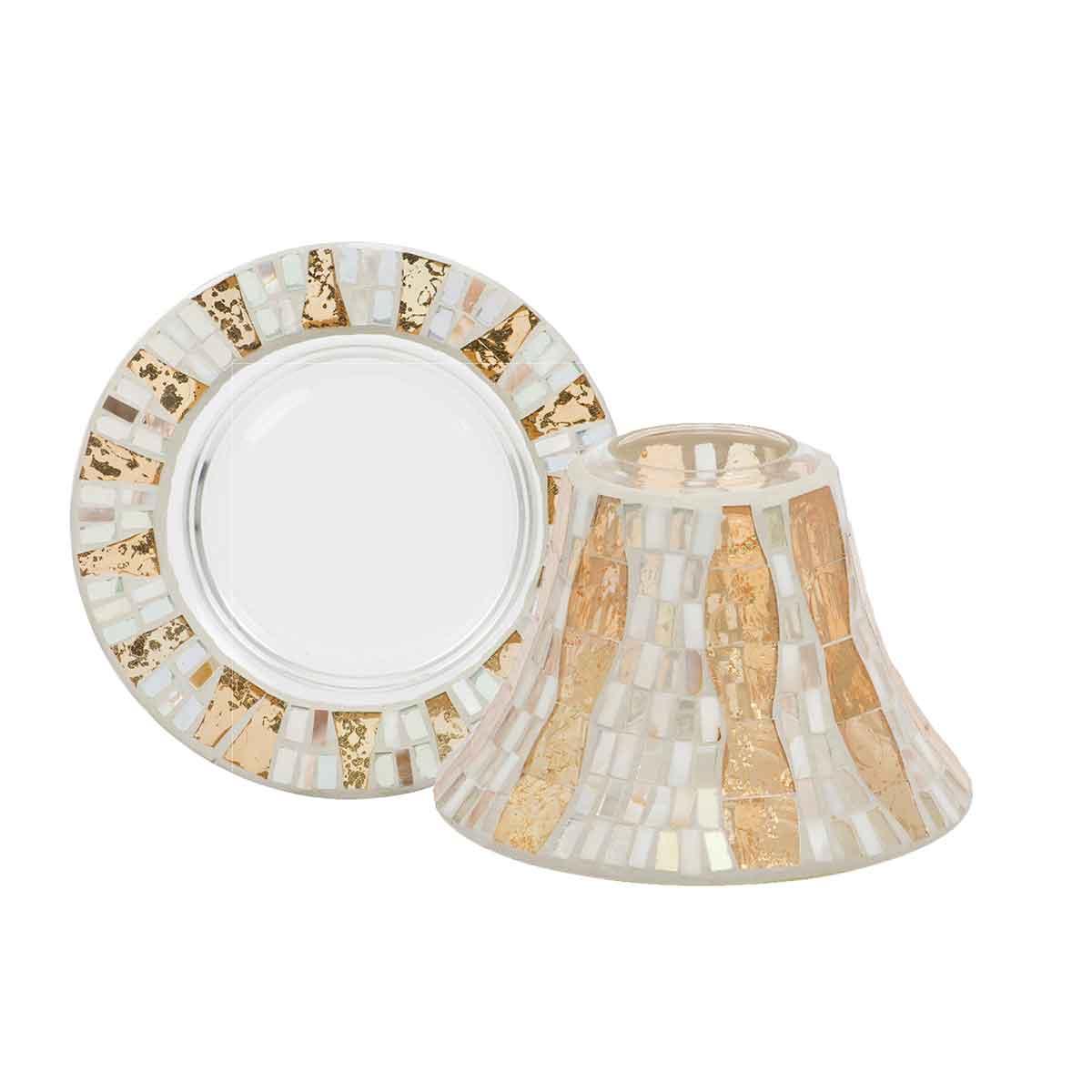 Gold-Wave-Mosaic-Shade-and-Tray