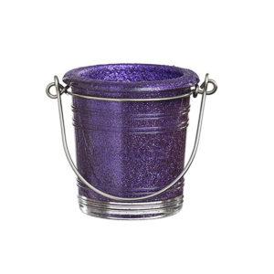 Glitter-Votive-Holder---Purple