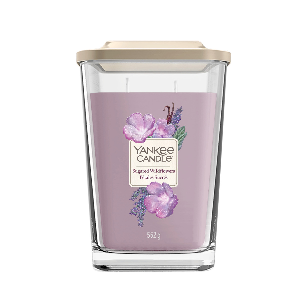 Elevation-Sugared-Wildflowers-Large-Square-Candle-1611833E
