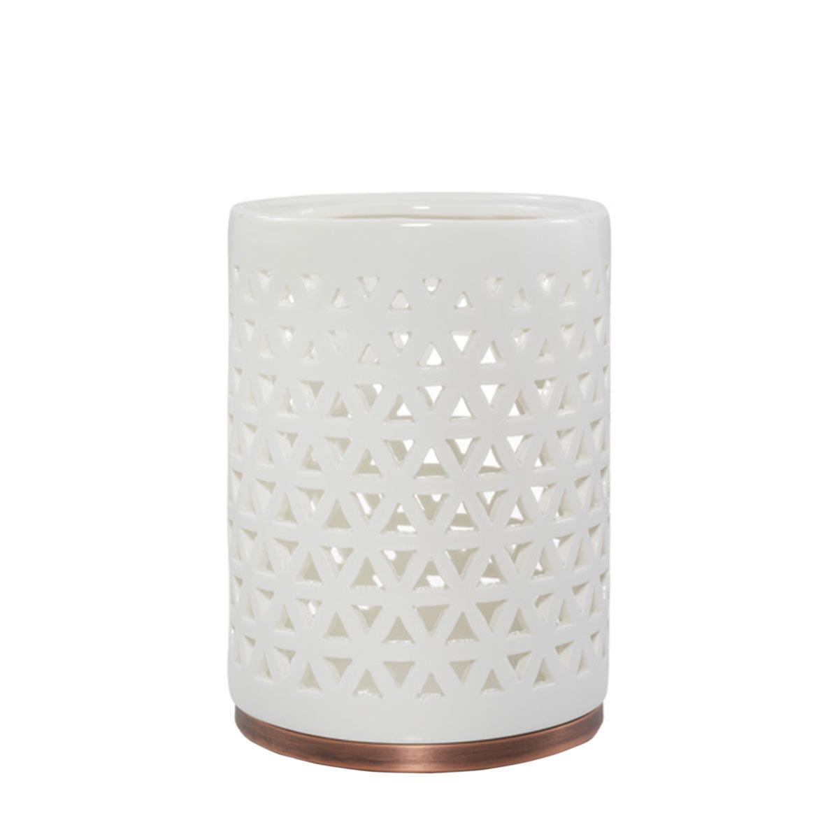 Belmont - Lattice Ceramic with Metal Base