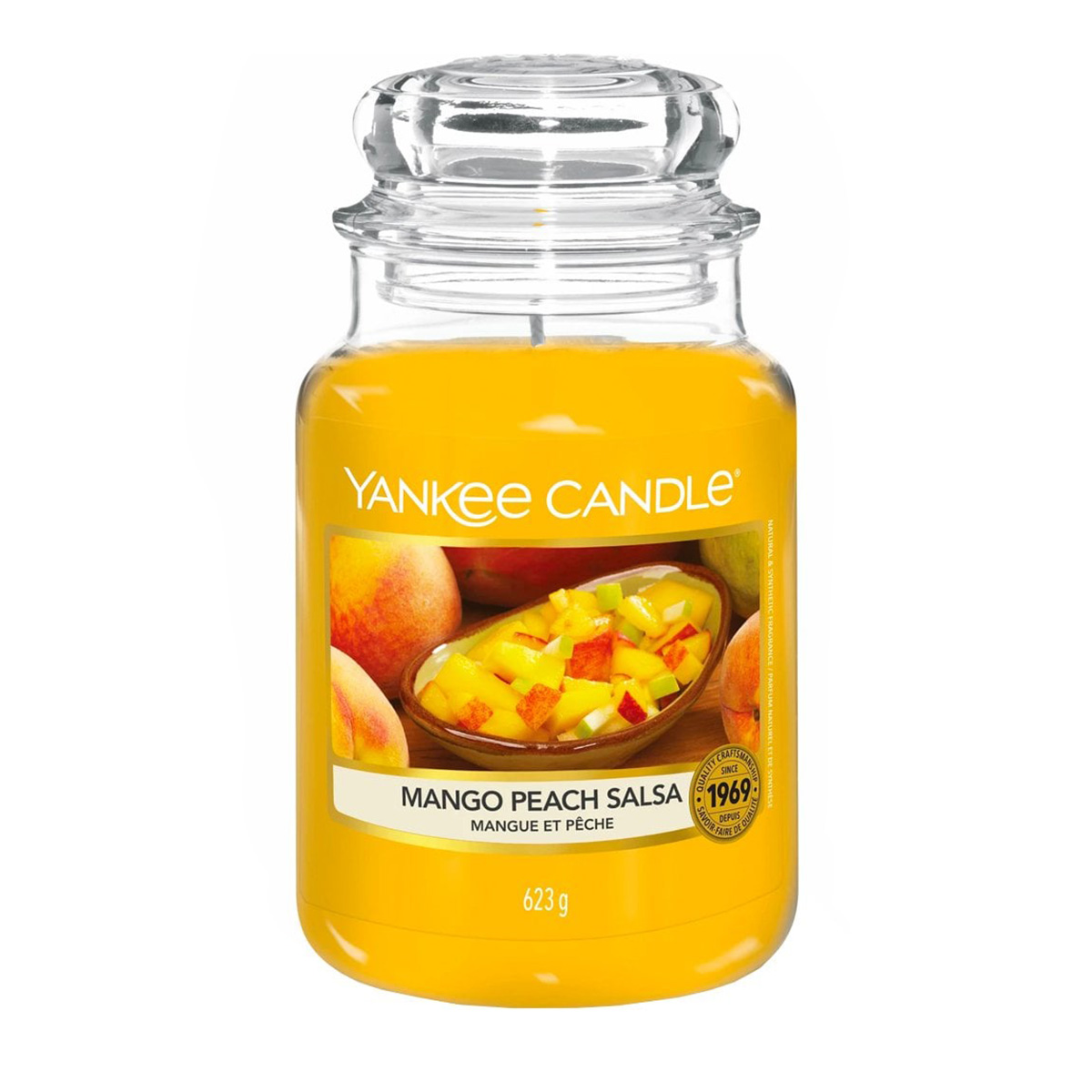 Mango Peach Salsa Large
